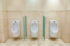 Mężczyzna toaletowi Obrazy Royalty Free