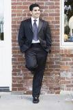 mężczyzna uśmiechnięty kostiumu krawat Obrazy Stock