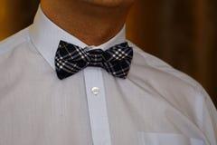 Mężczyzna z łęku krawatem Zdjęcia Stock