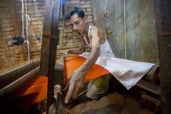 MD Али Hossen 28 лет работник Benarashi Palli Стоковое Изображение