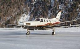MD11 от Аэрофлота Стоковые Изображения RF