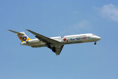 MD-80 12GO airline Stock Images