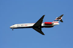 MD-80 12GO airline. McDonnell Douglas, MD-80 series of 12Go or orientthai airline, low cost airline in thailand Stock Photography