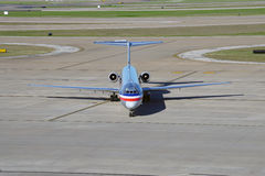 A MD80 airplane from American Airlines (AA) Stock Photography