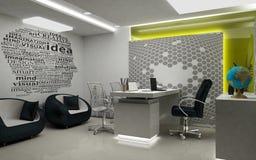 MD pokój 3D Odpłacający się Vew 2 Fotografia Stock