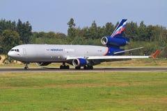 MD11 von Aeroflot Lizenzfreies Stockfoto