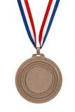 Médaille de bronze Photos libres de droits