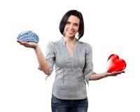 Mädchen wählt Liebe Lizenzfreies Stockfoto
