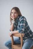 Mädchenporträt Stockbilder