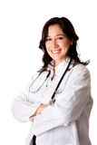 Médecin de sourire heureux de docteur Images stock