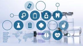 médecine Images stock