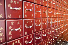 Médecine de chinois traditionnel Images stock