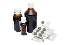 Médecines Photographie stock