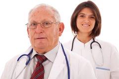 Médecins amicaux d'équipe Images libres de droits
