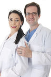 Médecins Together Image stock