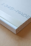 MDF panels Royalty Free Stock Photography