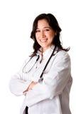 Médico sonriente feliz del doctor Imagenes de archivo