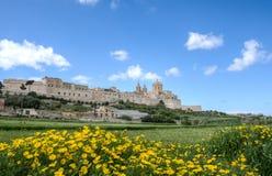 Mdina, Μάλτα Στοκ εικόνες με δικαίωμα ελεύθερης χρήσης