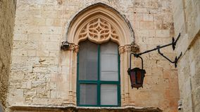 Mdina - ΜΑΛΤΑ Φωτεινοί σηματοδότες στην αρχαία μεσαιωνική πόλη Mdina Το Mdina είναι ένας δημοφιλής τόπος προορισμού τουριστών στη Στοκ Εικόνες