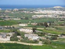 Mdina Мальта стоковые фотографии rf