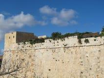 Mdina Мальта Стоковое Изображение