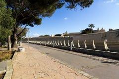 Mdina-Abzugsgraben, Malta Lizenzfreie Stockbilder