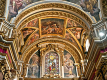 Mdina Cathedral Royalty Free Stock Photos