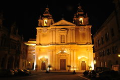 Mdina Cathedral Royalty Free Stock Image