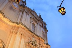 Mdina Cathedral Royalty Free Stock Images