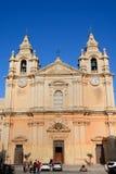 Mdina Cathedral, Malta. Stock Photo