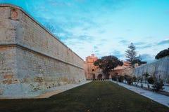 Mdina city gates Malta. Mdina city gates. Old fortress Malta Royalty Free Stock Photo