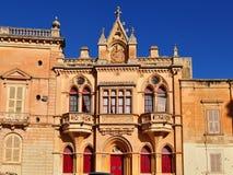 Mdina,city hall,Malta island Royalty Free Stock Images