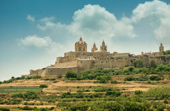 Mdina in the day Royalty Free Stock Images