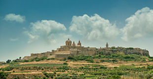Mdina in the day Royalty Free Stock Photo
