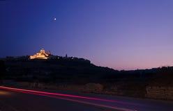 Mdina at dusk - Malta Royalty Free Stock Photography