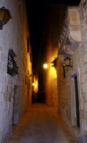 Mdina entro Night fotografia stock