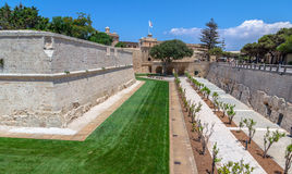 Mdina Fortification Stock Photos