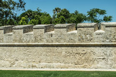 Mdina Fortifications Royalty Free Stock Photos