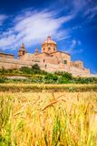 Mdina, fortified city on Malta island. Mdina, Malta - a fortified city in the Northern Region of Malta, old capital of the island Royalty Free Stock Images