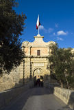 Mdina Gate Royalty Free Stock Photos