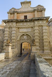 Mdina Gate, Malta Stock Photo