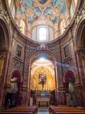 Mdina katedra, Malta Zdjęcie Stock