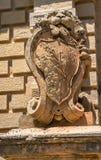 Mdina Lion. Lion statue at the entrance of medieval city of Medina Stock Image