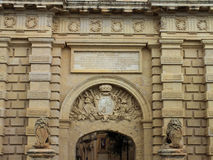 Mdina Main Gate Stock Image