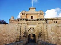 Mdina Malta stockbild