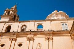 Mdina, Malta. Architecture in the ancient city of Mdina, Malta Stock Images