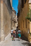 Silent city of Mdina, Malta Stock Image