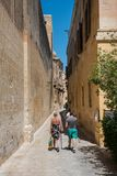 Silent city of Mdina, Malta Royalty Free Stock Image