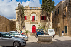 Mdina, Malta - May 04 2016: The beautiful architecture of the me. Mdina, Malta - May 04 2016: The beautiful architecture of Mdina, Malta - Old Capital and the Royalty Free Stock Image