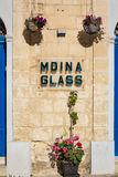 Mdina, Malta - May 04 2016: Details of the silent streets of the. Old town Mdina, Malta - Old Capital and the Silent City of Malta - Medieval Town Royalty Free Stock Photo